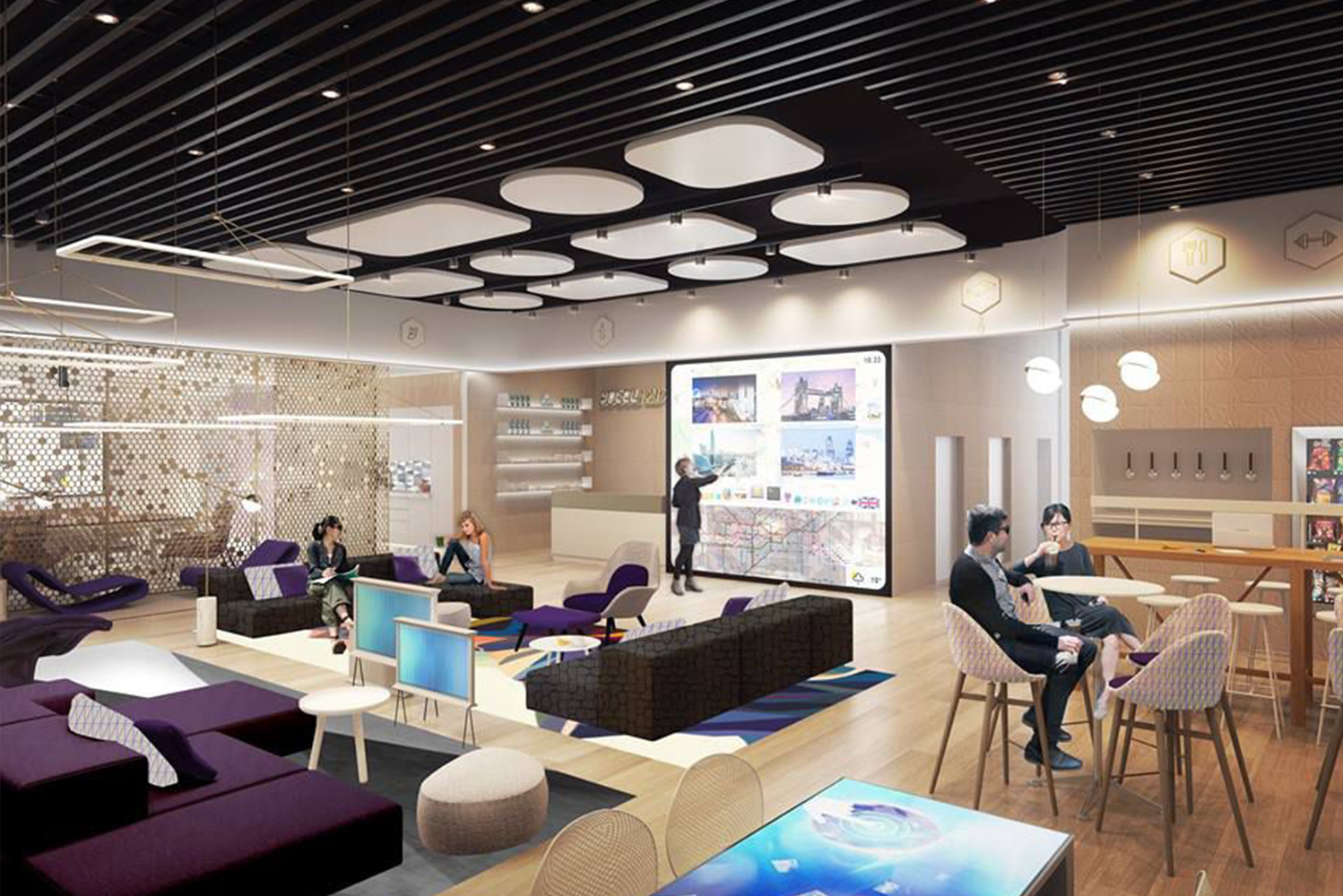 YotelPad Miami and will have 208 residential units in addition to 250 YOTEL cabins.