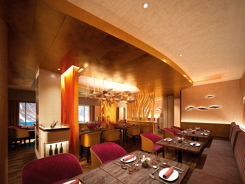"The signature restaurant on the Hanseatic Inspiration will be ""ceviche meets sushi"" // Photo by Hapag-Lloyd Cruises"