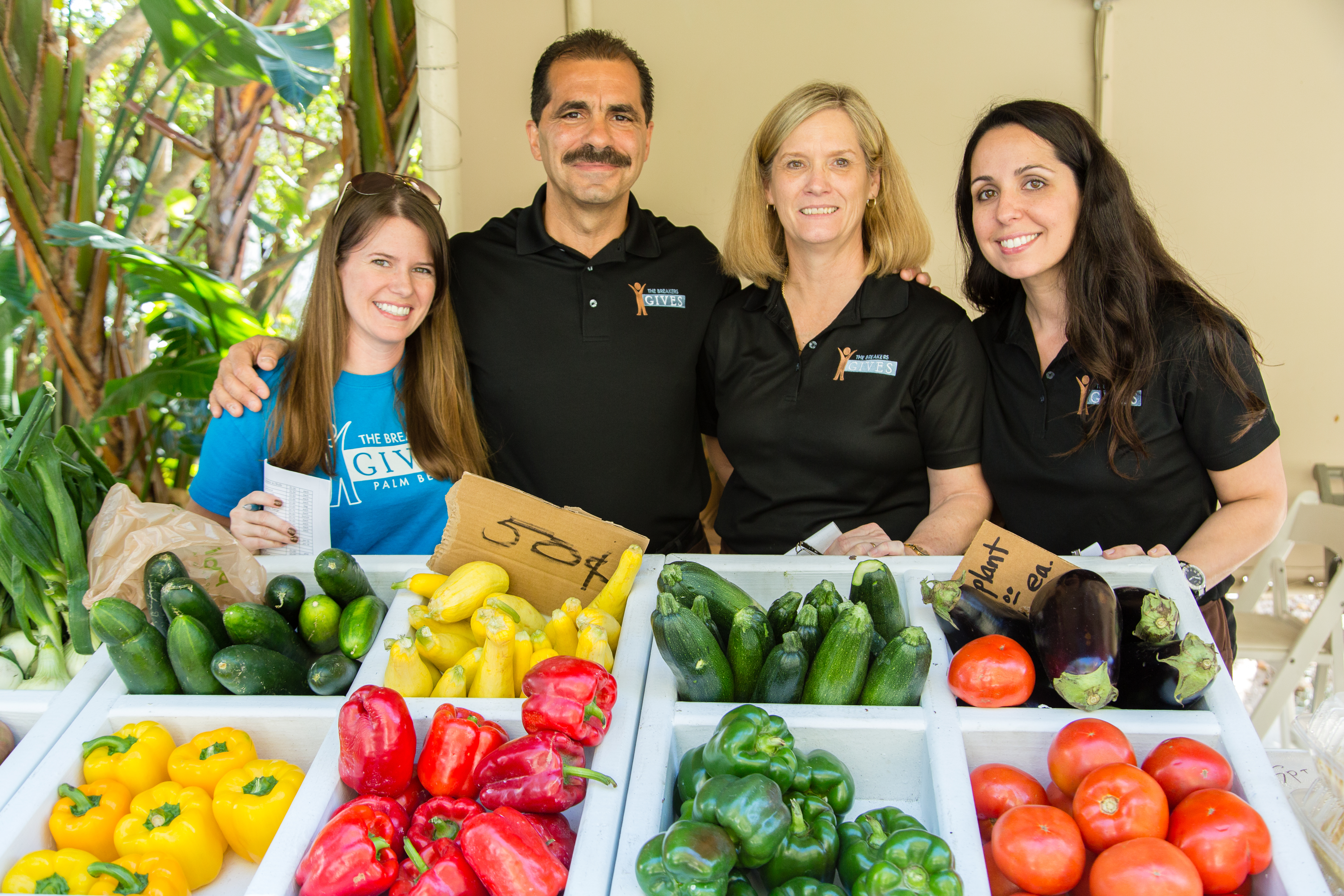 The Breakers Palm Beach (Fla.) offers a green market for employees.
