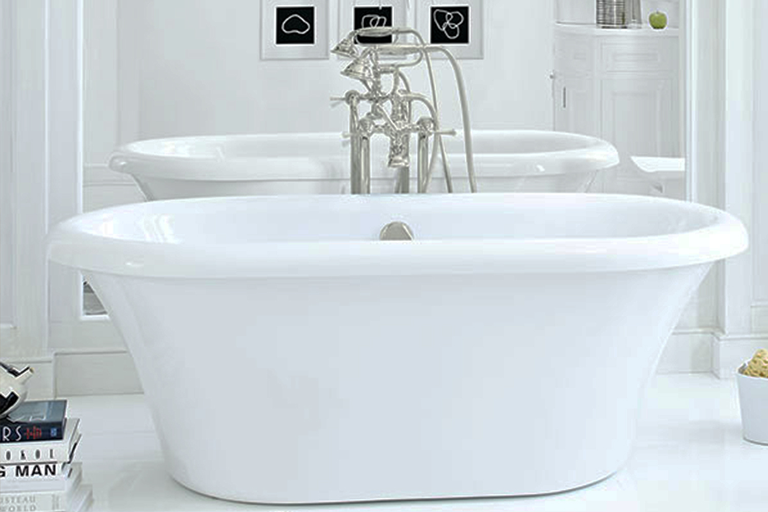 Introducing the St. George freestanding soaking tub by DXV.