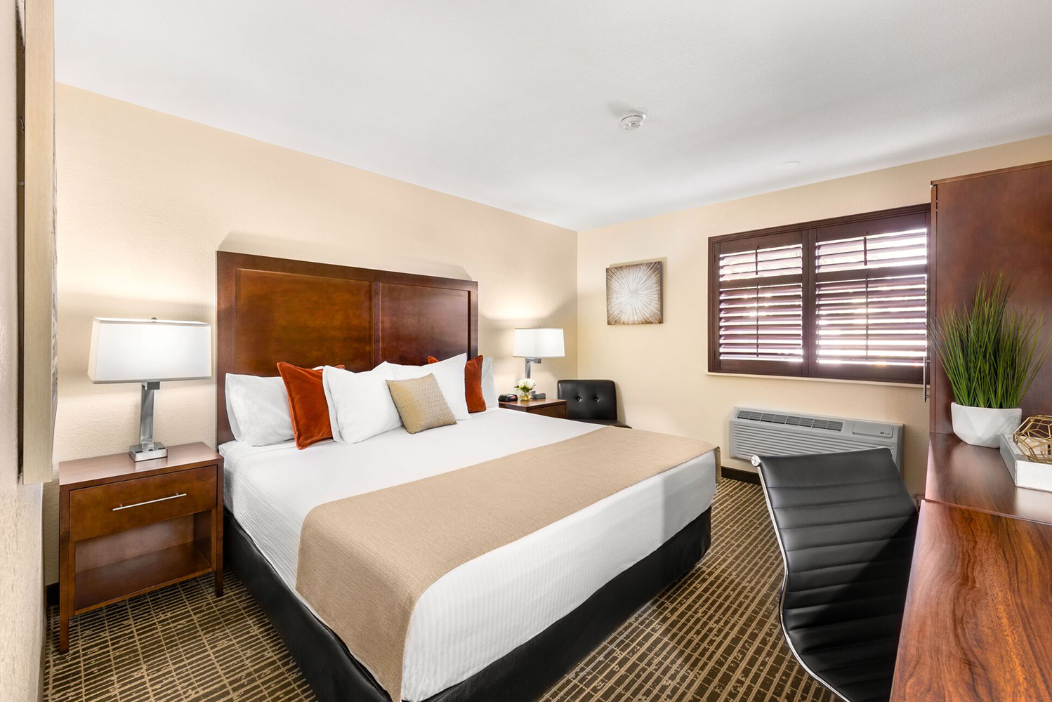 Ellis Island Hotel, Casino & Brewery completed a renovation that included the property's 289 guestrooms and 12 suites.