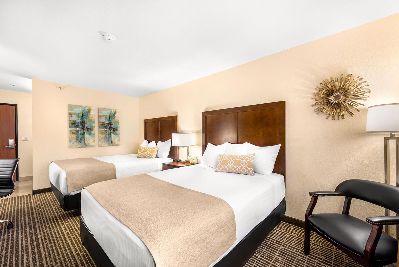The Ellis Island team designed the room renovation internally.