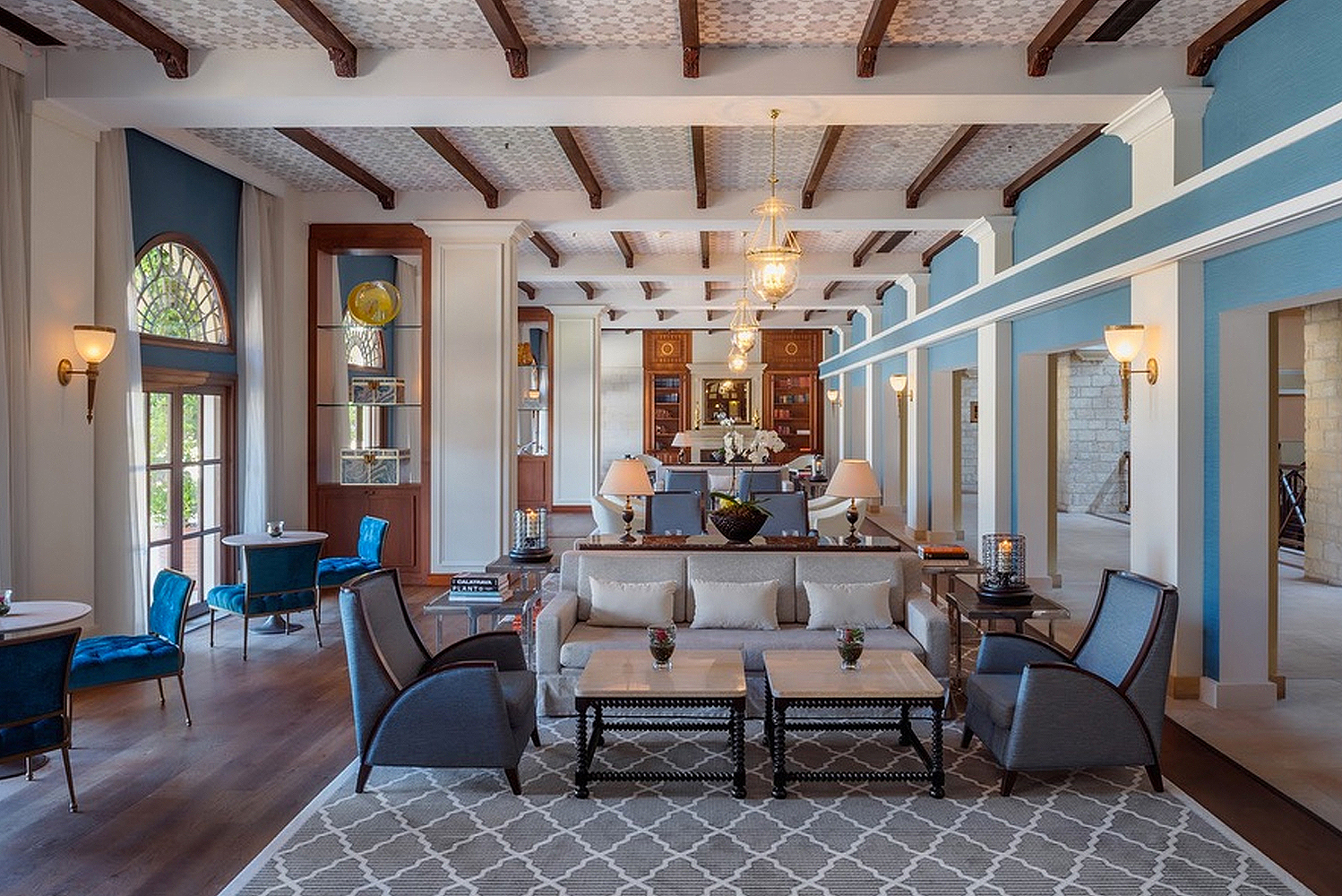 Architecture and interior design firm Wilson Associates unveiled the renovated Elysium Hotel in Cyprus.