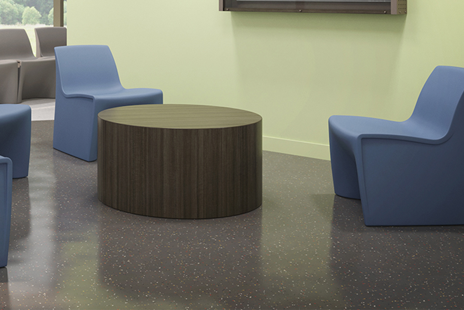 Spec Furniture launched the Hardi seating series available in lounge and dining designs.