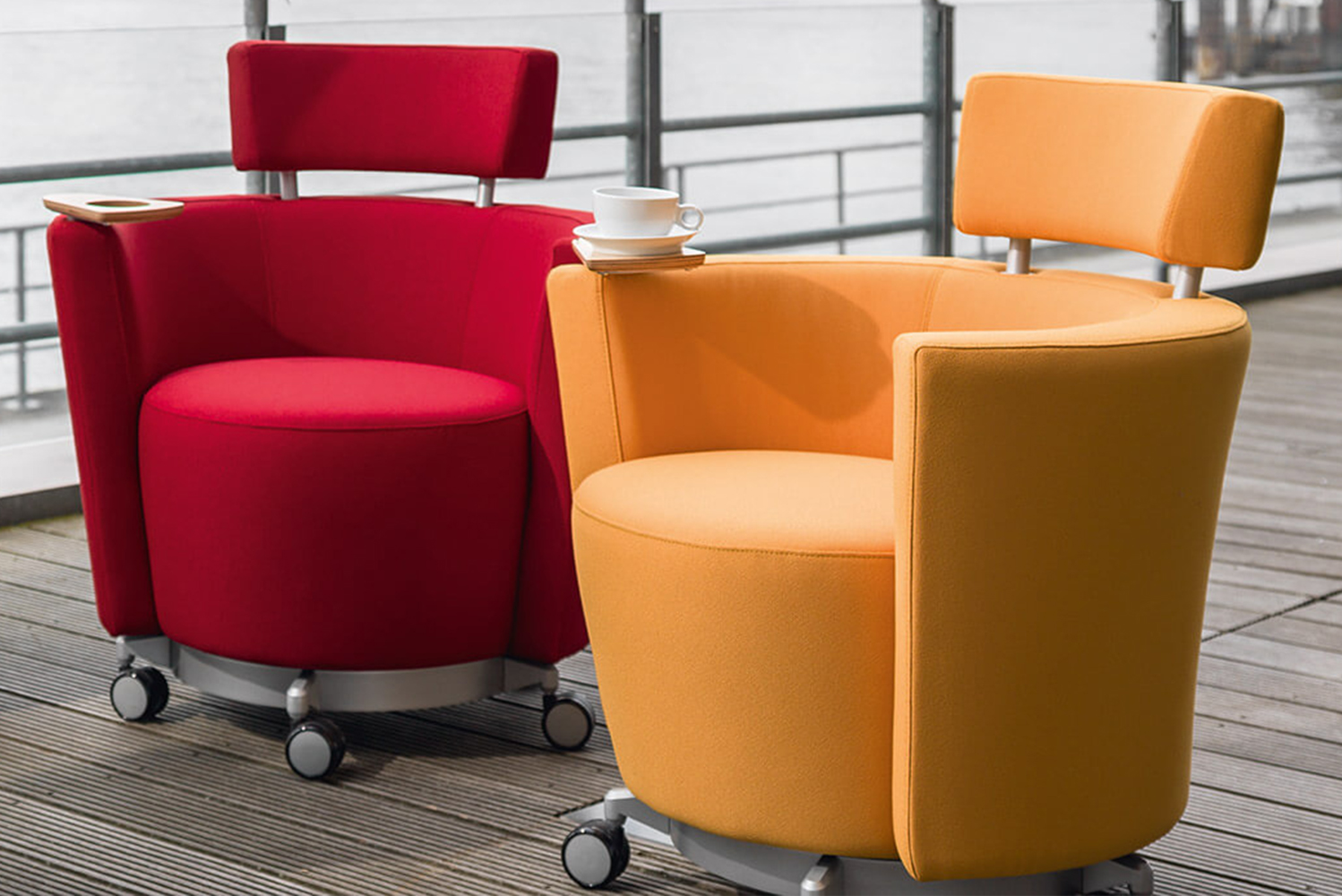 Introducing the Hello chair by CSD Studio for contract furniture manufacturer Haworth.