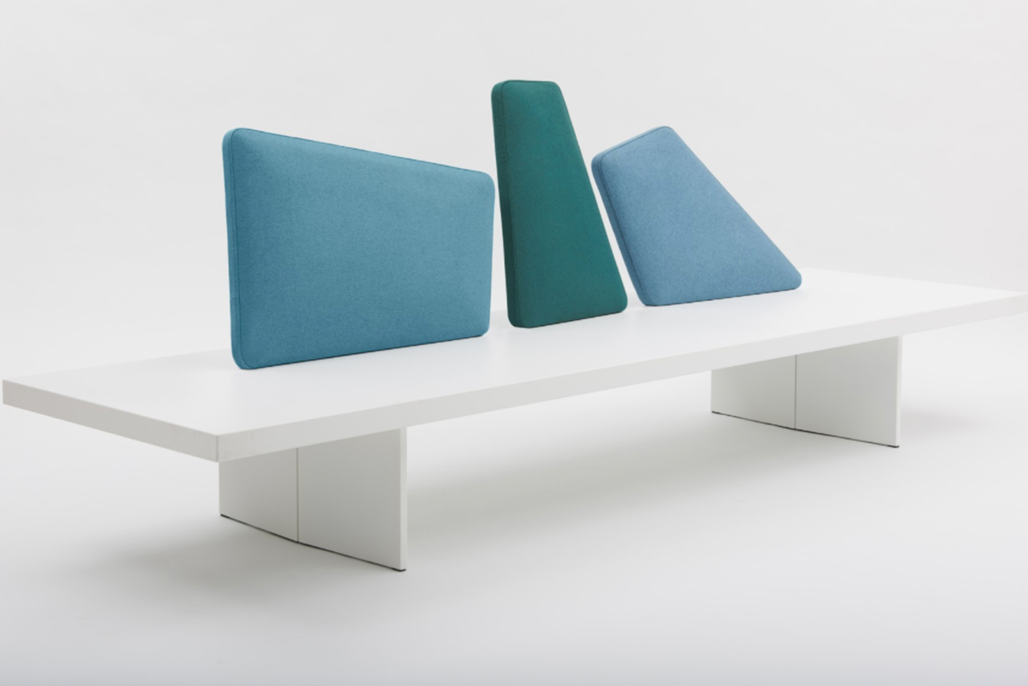Italian furniture brand Segis launched the Iceland bench, which mimics the icy crags of glaciers found throughout Iceland.
