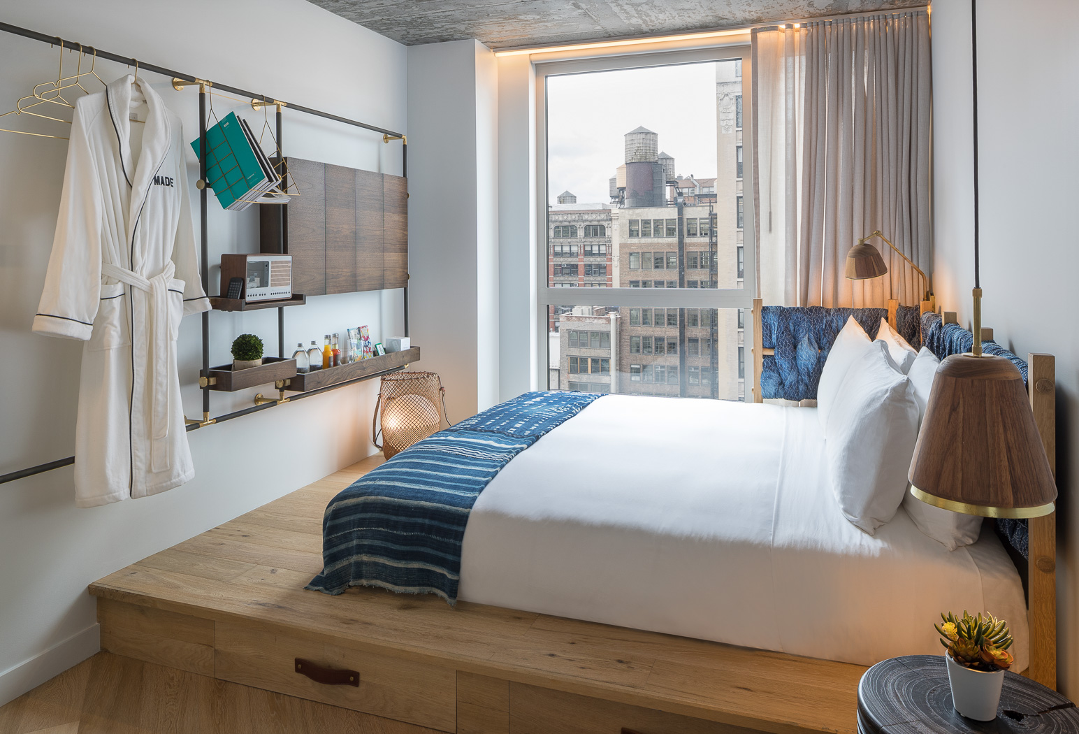Leesa beds are used in New York City's Made Hotel.