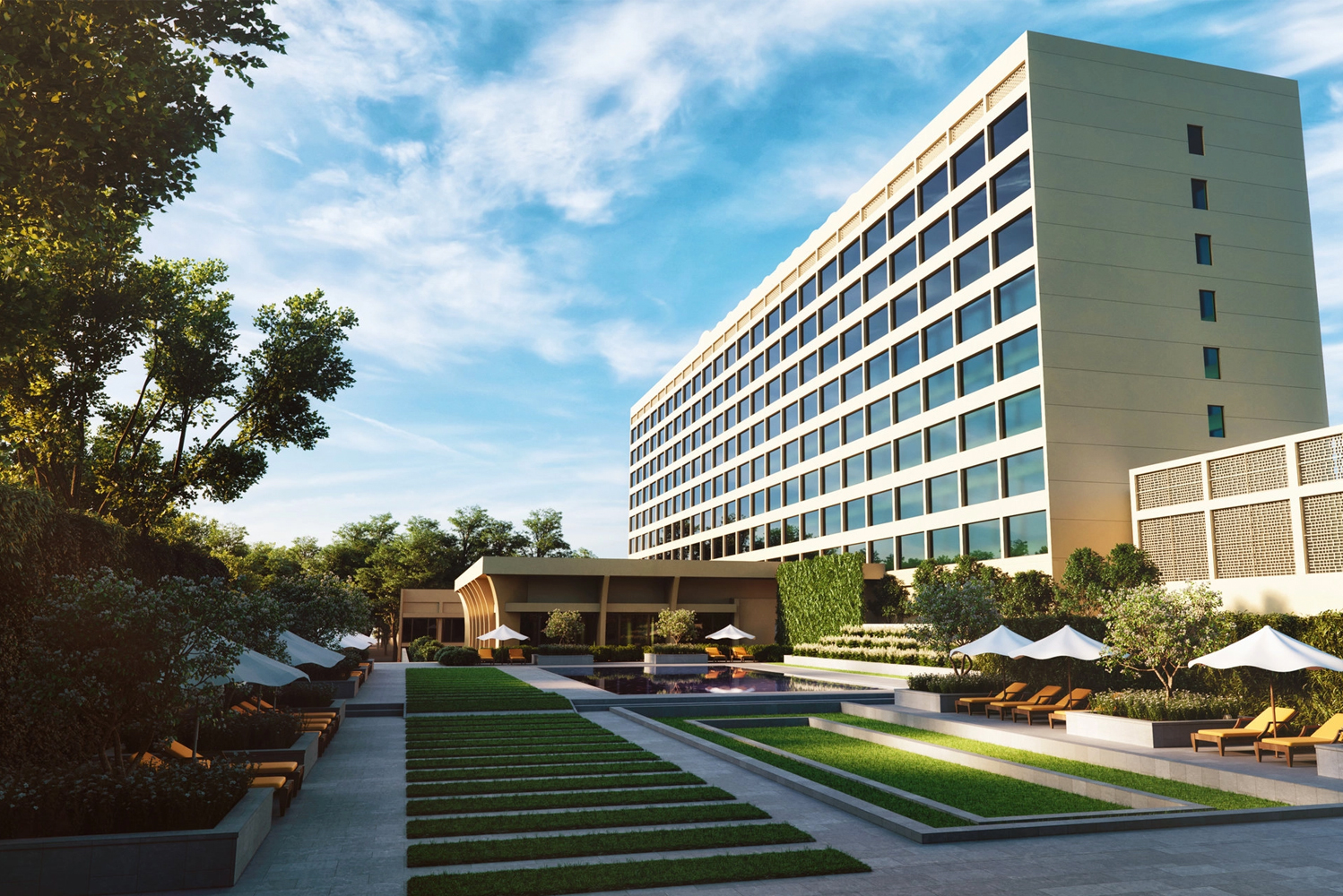 New York-based designer Adam D. Tihany of Tihany Design completed work on a $100 million refresh of the Oberoi, New Delhi.