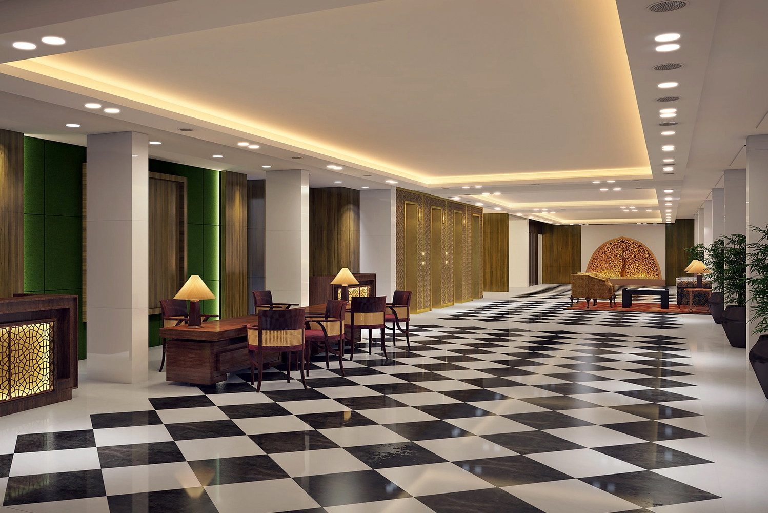 Oberoi Group's flagship property was influenced by the modernist work of English architect Edward Lutyens.