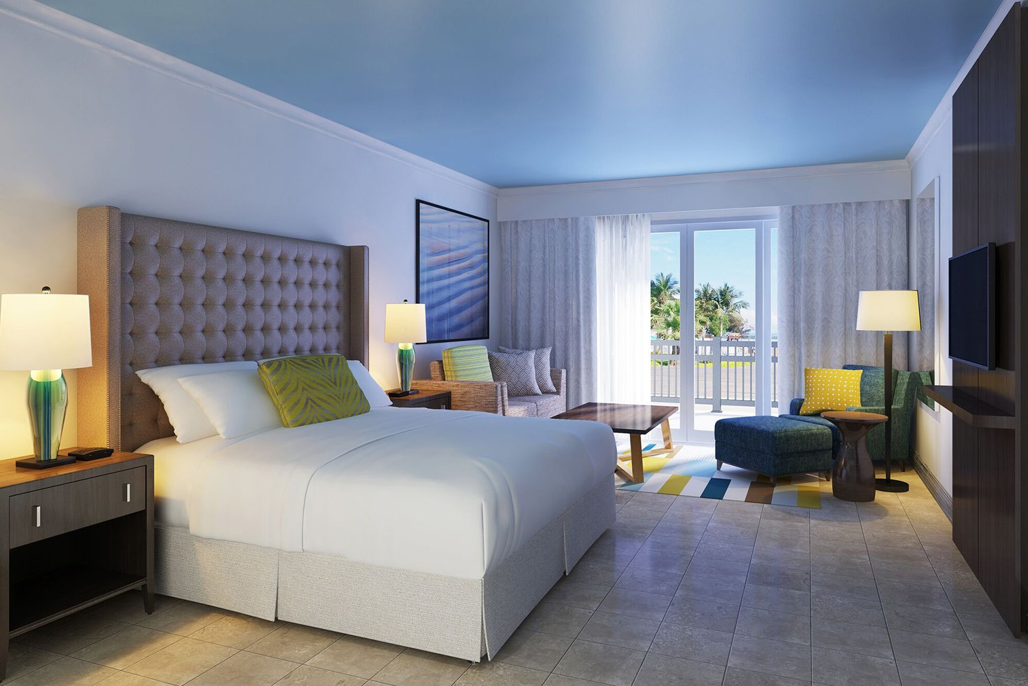 St. Kitts Marriott Resort completed its renovations that saw the property transform all 389 rooms and the main lobby.