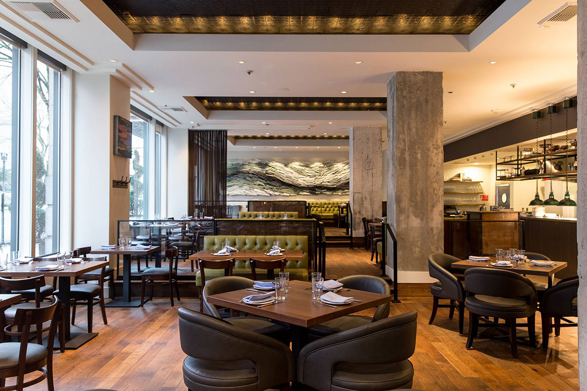 Headwaters is a seafood restaurant from Portland's James Beard Award-winner and Iron Chef America Champion, Vitaly Paley.