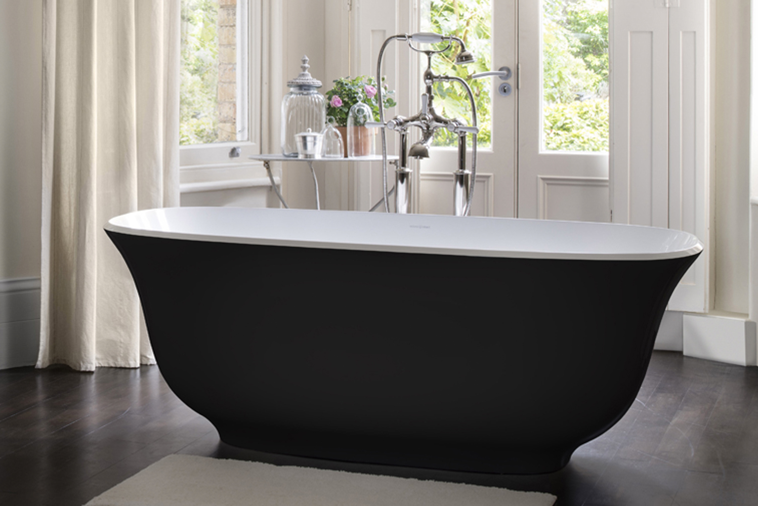 Victoria + Albert launched the Amiata freestanding bathtub.