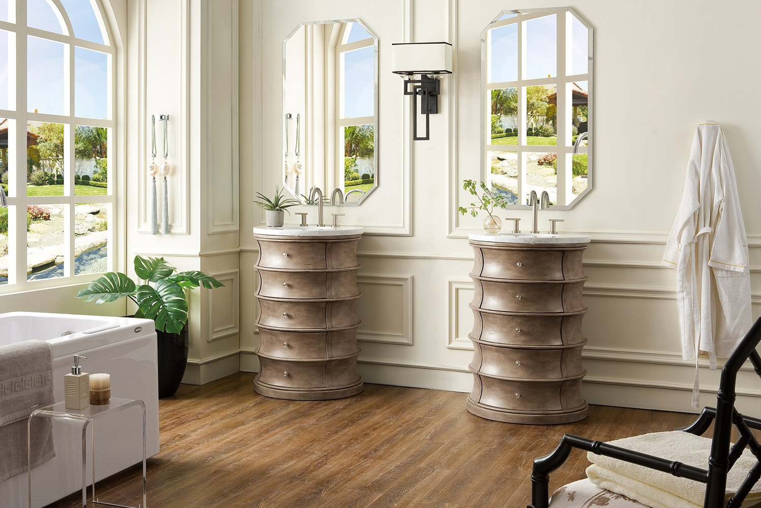 James Martin Furniture, manufacturer of bathroom vanity cabinets, launched the Cairns vanity.