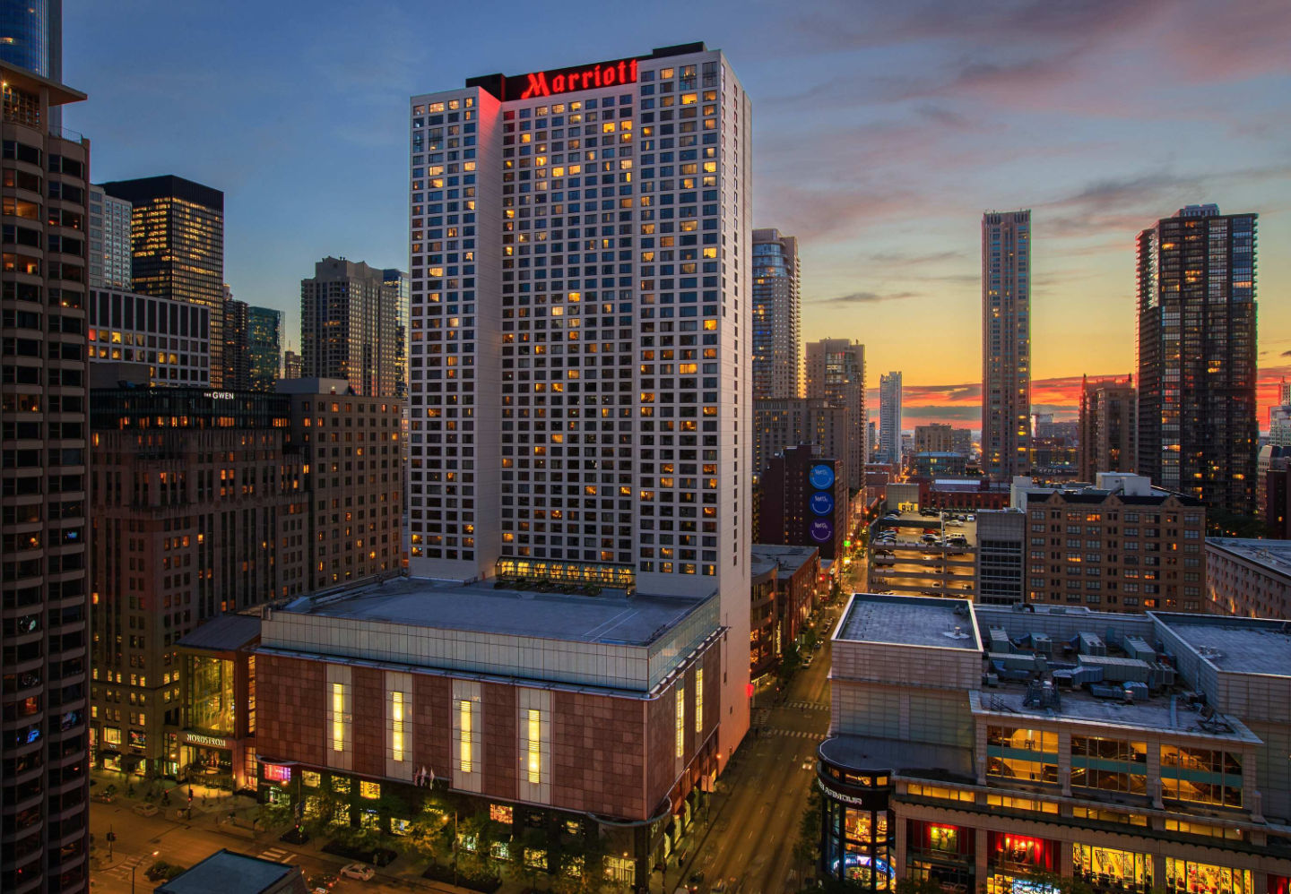 The Chicago Marriott Downtown Magnificent Mile has completed its multi-million dollar meeting-and-event-space renovation