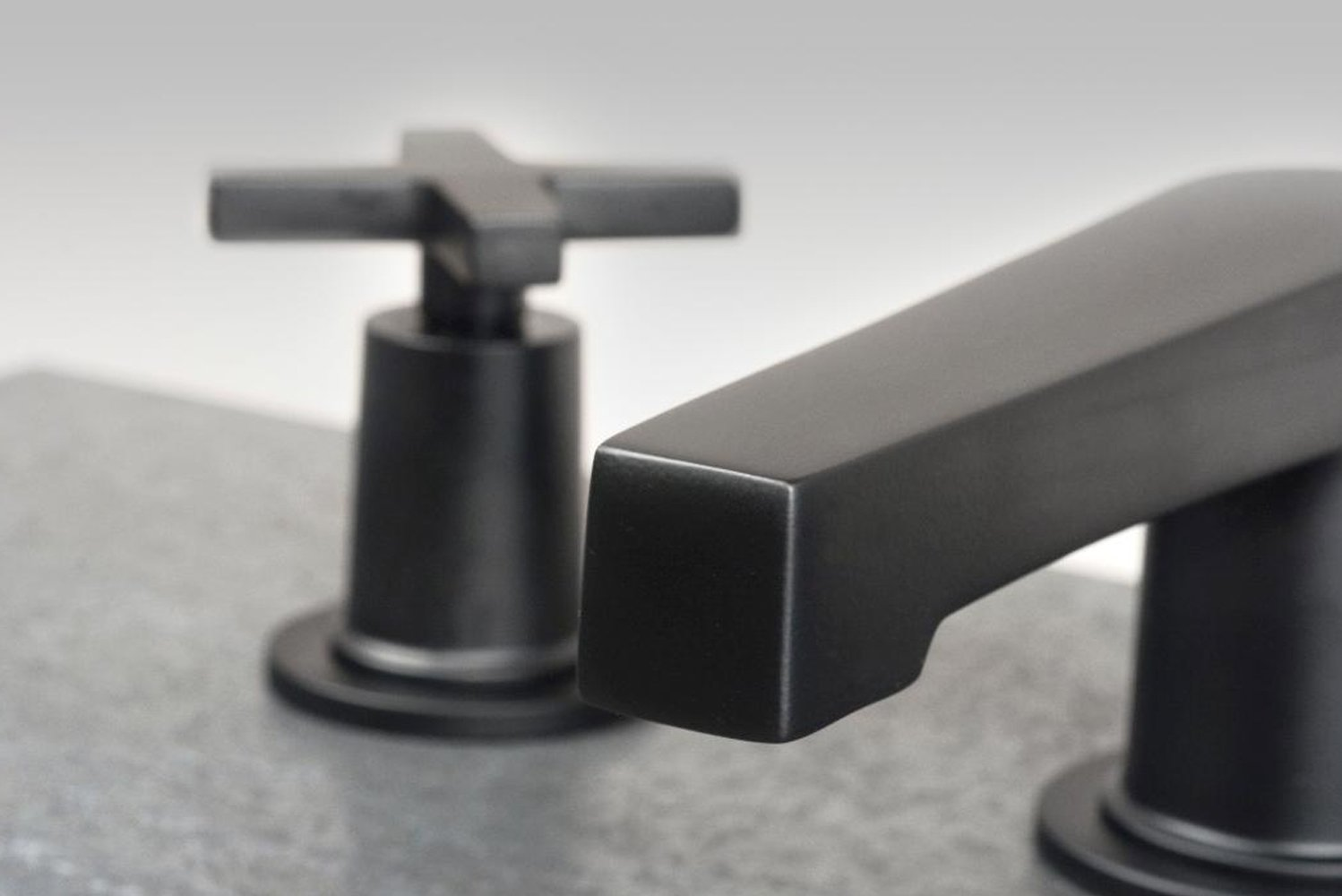 Dorrance has ADA-compliant lever handles, though it can be configured with cross handles.