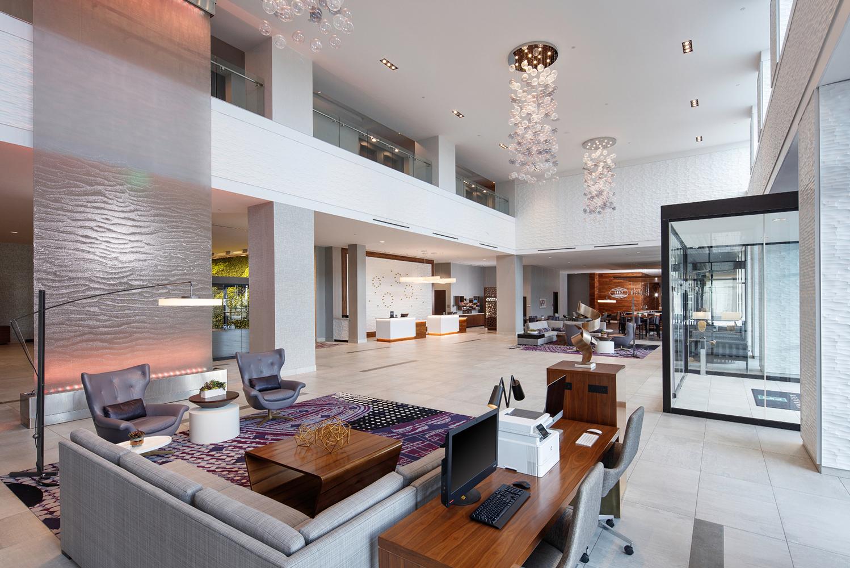 MatchLine Design Group designed Embassy Suites Amarillo-Downtown.