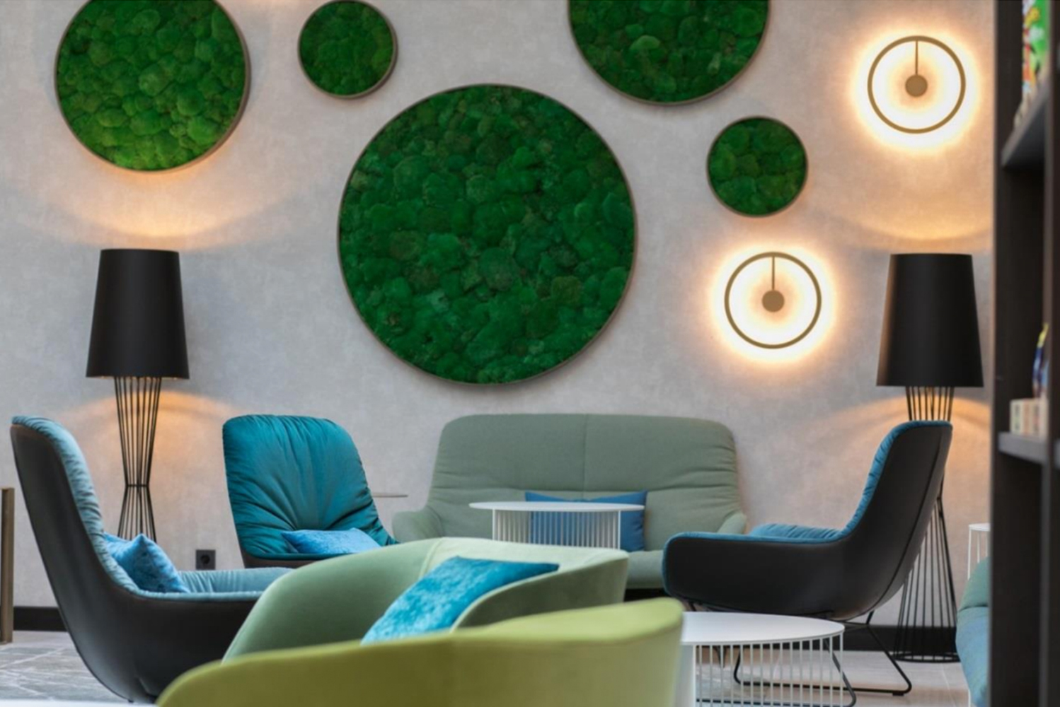 JOI-Design created the interiors for the Hyatt Place Frankfurt, the brand's first property in Germany.