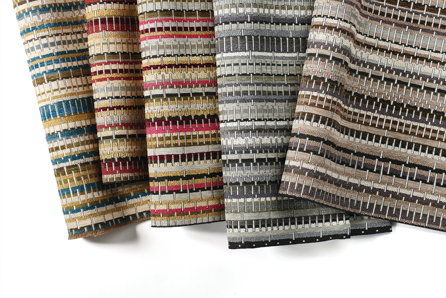 Introducing Inner Strength, a new upholstery collection from Carnegie.
