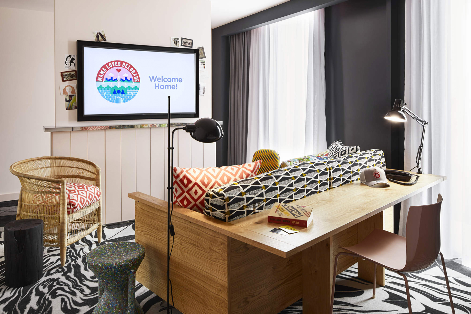 Mama Shelter opened its seventh property along Ulica Kneza Mihaila in central Belgrade.
