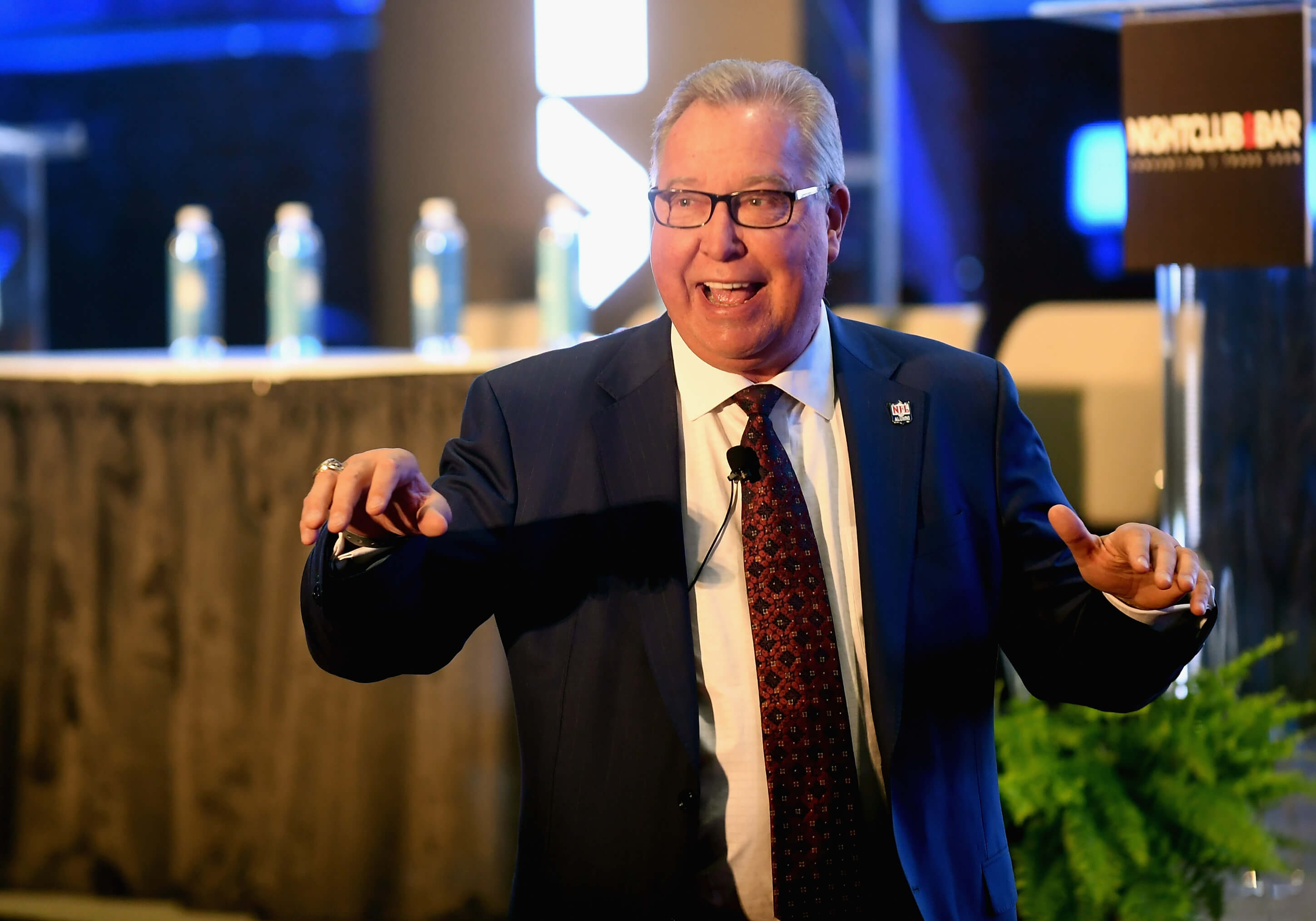 "Energetic, engaging Ron ""Jaws"" Jaworski delivers a rousing keynote."