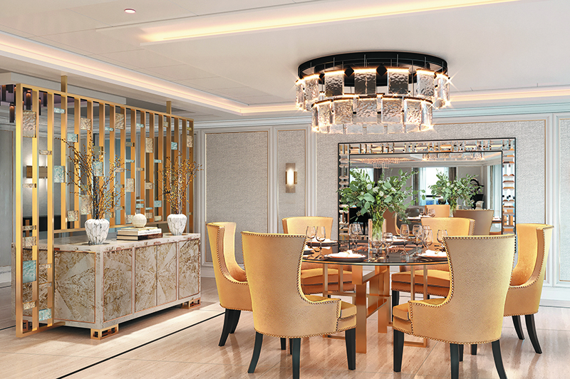Regent Suite Dining Room