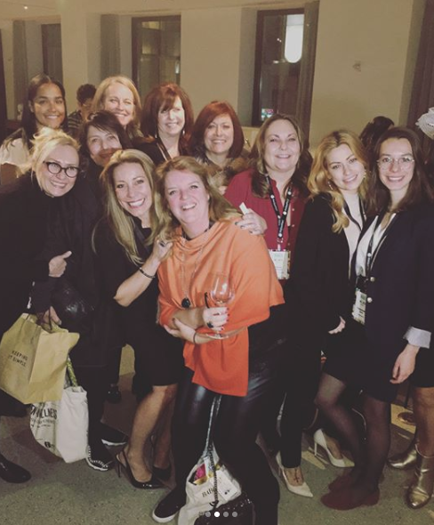Attendees of American Spa's Women in Wellness Leadership Conference (photo via Joanna Roche/@januaryjo on Instagram)
