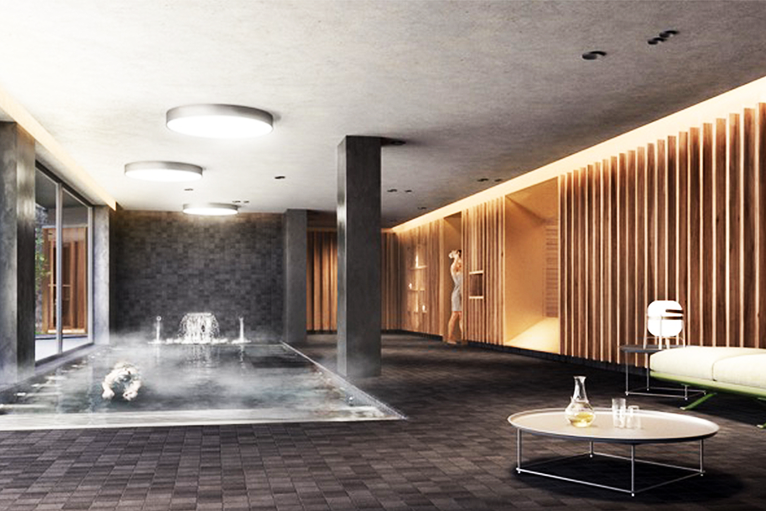 Son Brull will add a 350 square meter (3,767 square foot) spa this March.