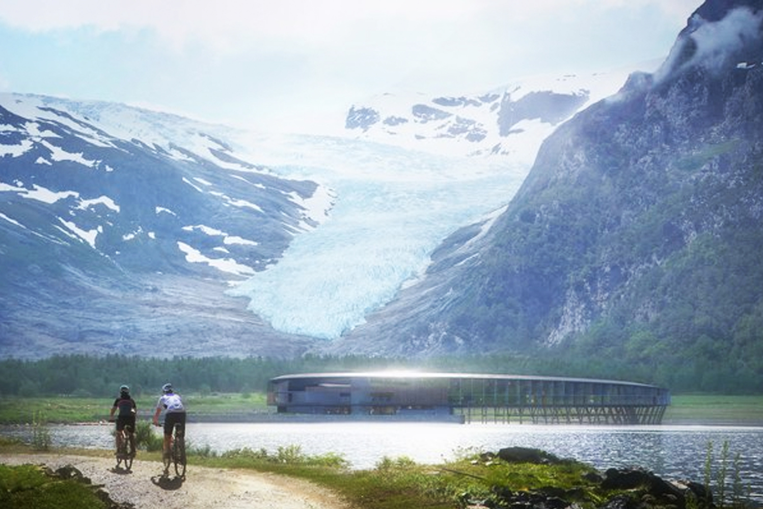 "The property will be based on the ""powerhouse"" building system developed by Snøhetta and a group of collaborators to create ""energy-positive"" sustainable buildings."