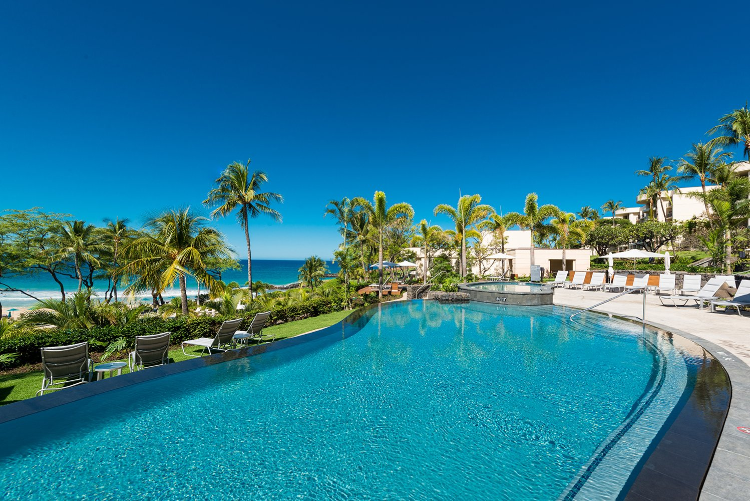 There will be a new adults-only pool with a poolside experience overlooking the Hapuna Beach.