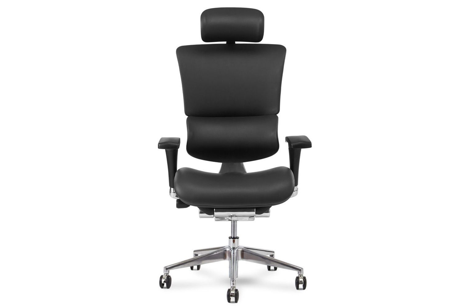 The X4 leather executive chair is by X-Chair.