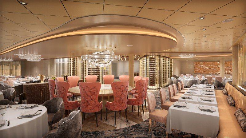 The Cosmopolitan main dining venue will serve new American cuisine