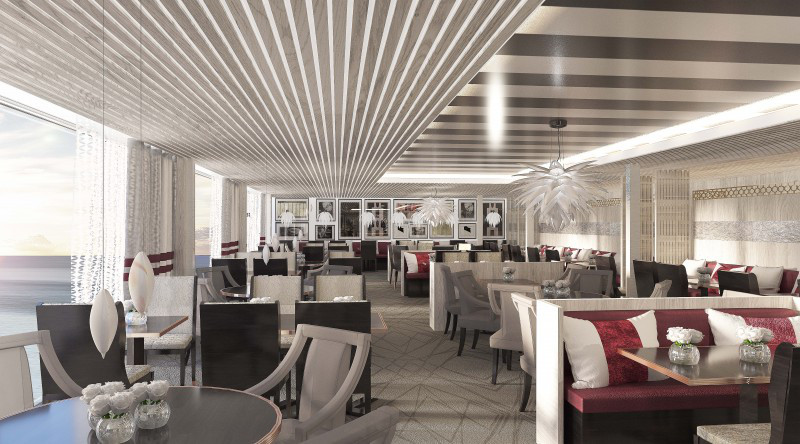 Luminae will be exclusive to Suite Class guests