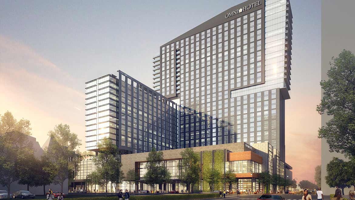 Omni Louisville Hotel is a $300-million investment by Omni Hotels & Resorts and Metro Louisville.