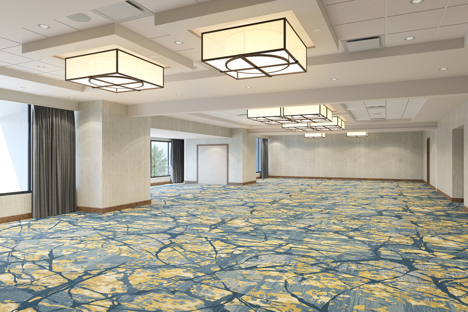 Each room in the indoor meeting space will have its own individual style with nods to the Perimeter Center.