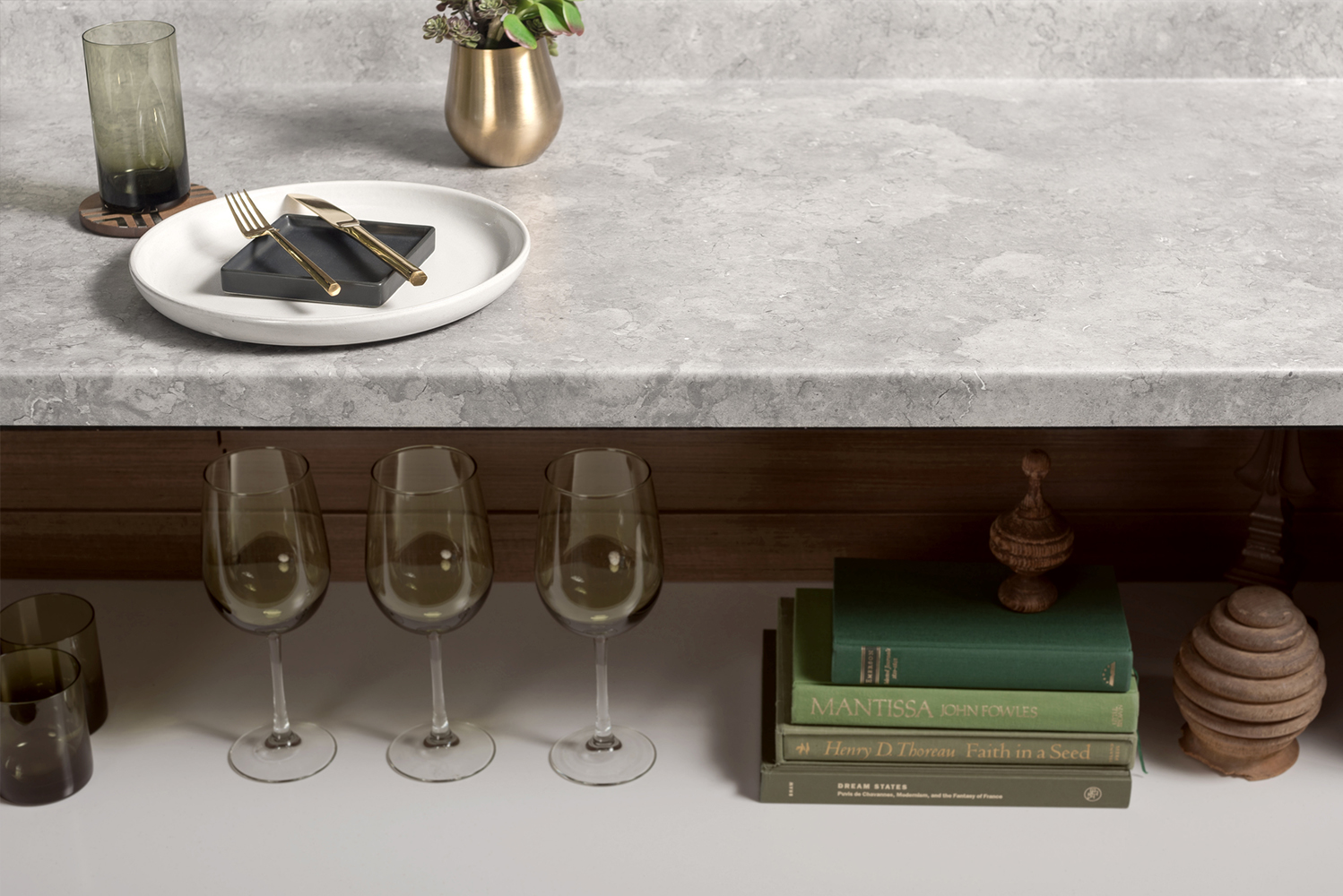 The new collection transforms the laminate with the company's Soft Silk finish.