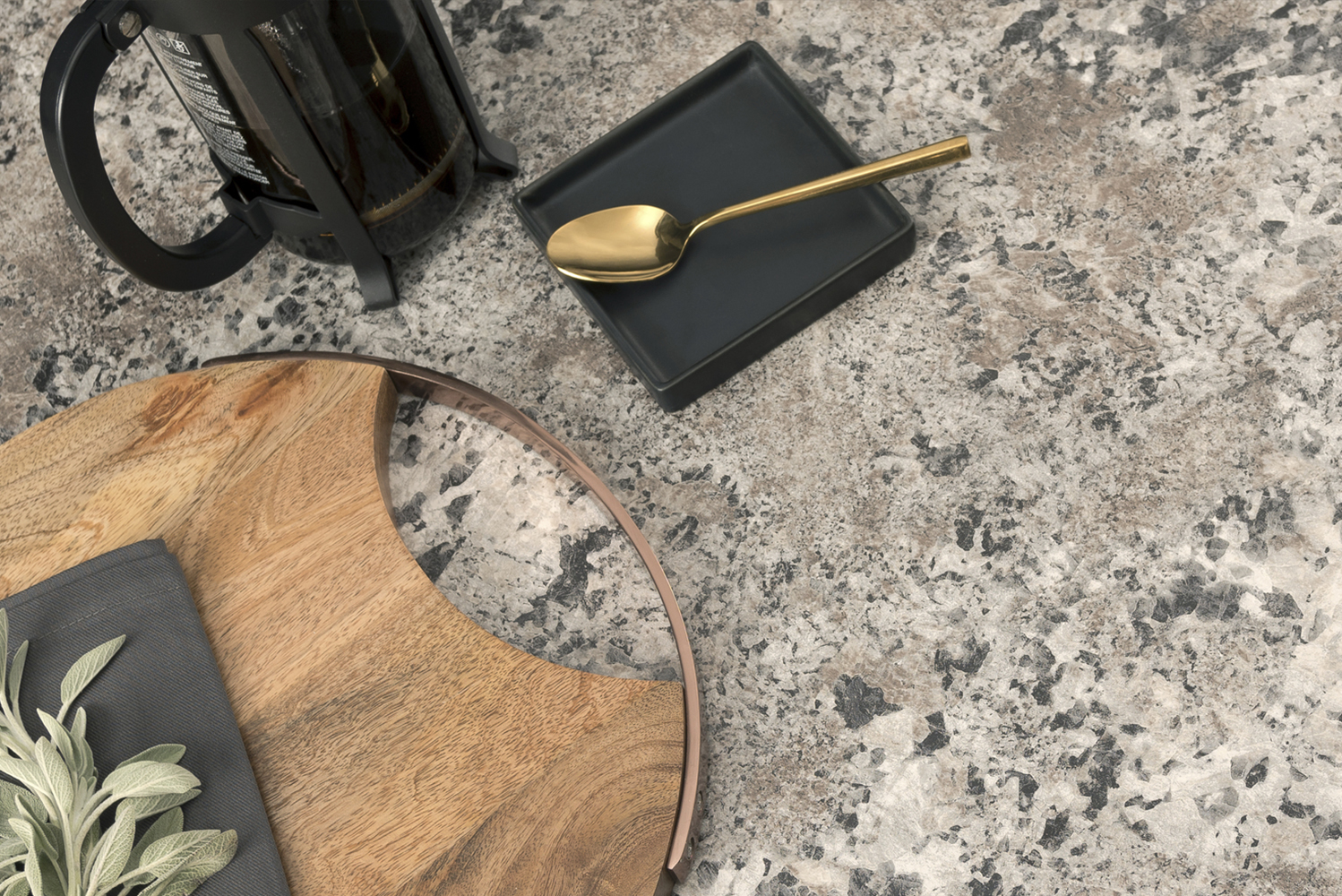 There are also offerings in large-scale white marble design with grey, brown and bronze veining.