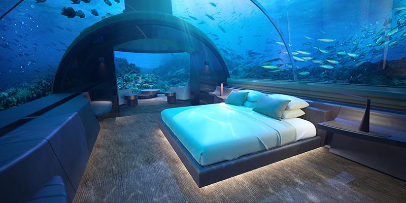 The Muraka king bedroom