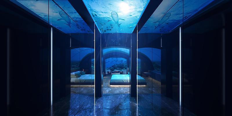 The Muraka bedroom corridor