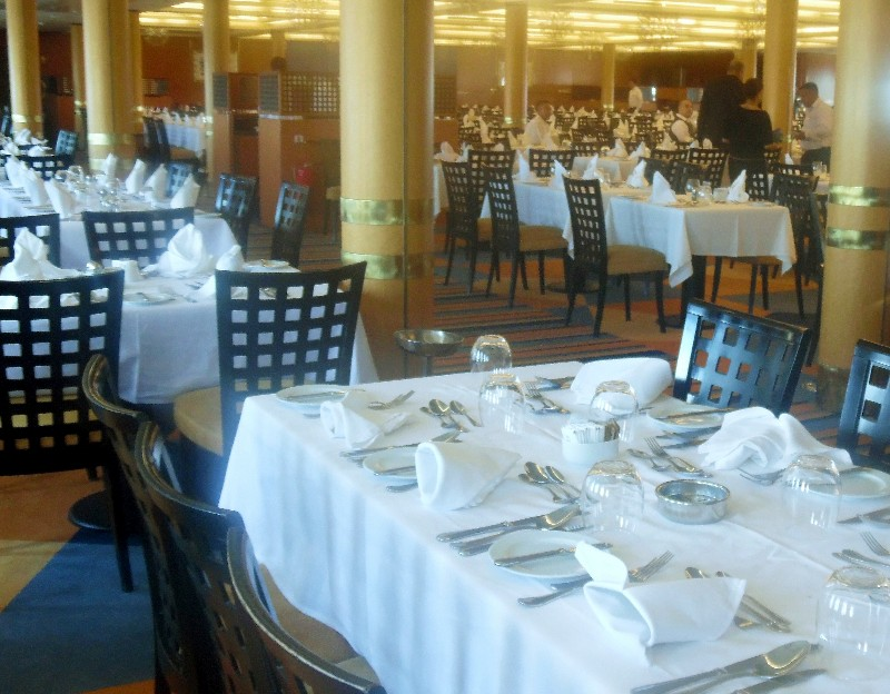 Grand Classica's main dining room