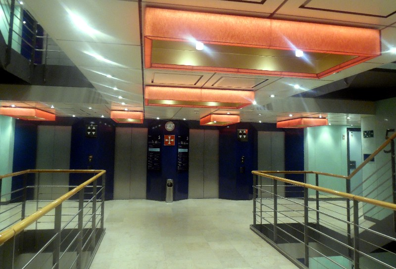 Elevator Lobby on Grand Classica
