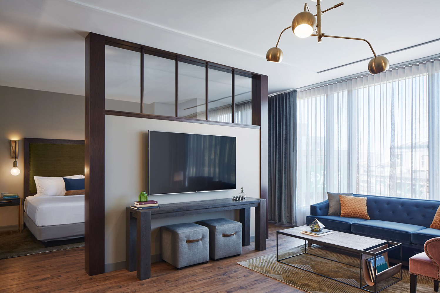 Hotel Zachary has 173 guestrooms, including 20 suites, designed by Stantec Architecture.