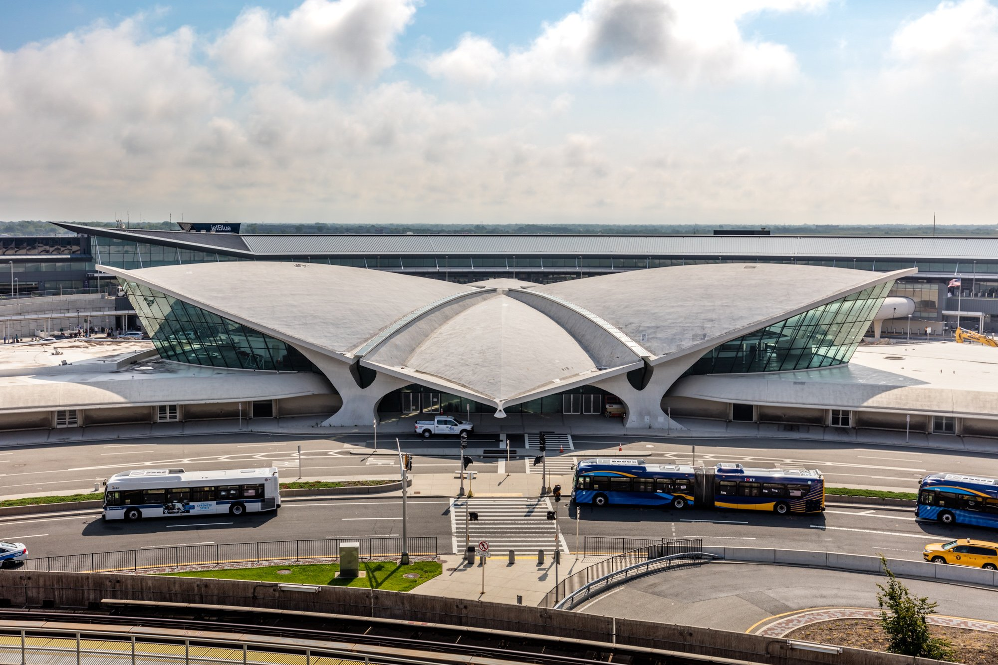 The original TWA Flight Center closed in 2001, and was abandoned for 15 years.