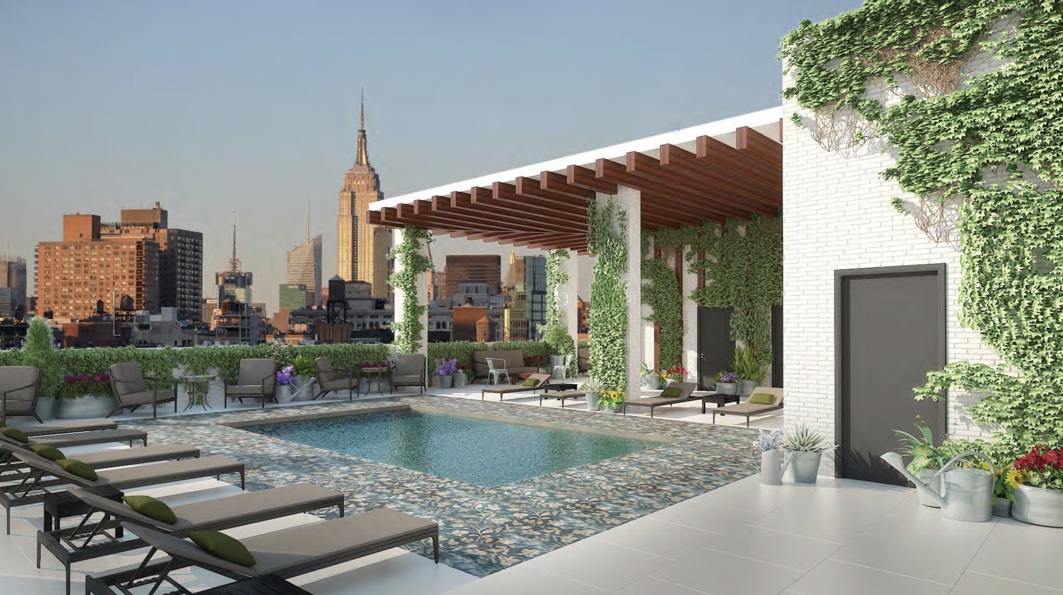 The new-build Renaissance New York Chelsea South Hotel will open next year on the former Antiques Garage Flea Market site