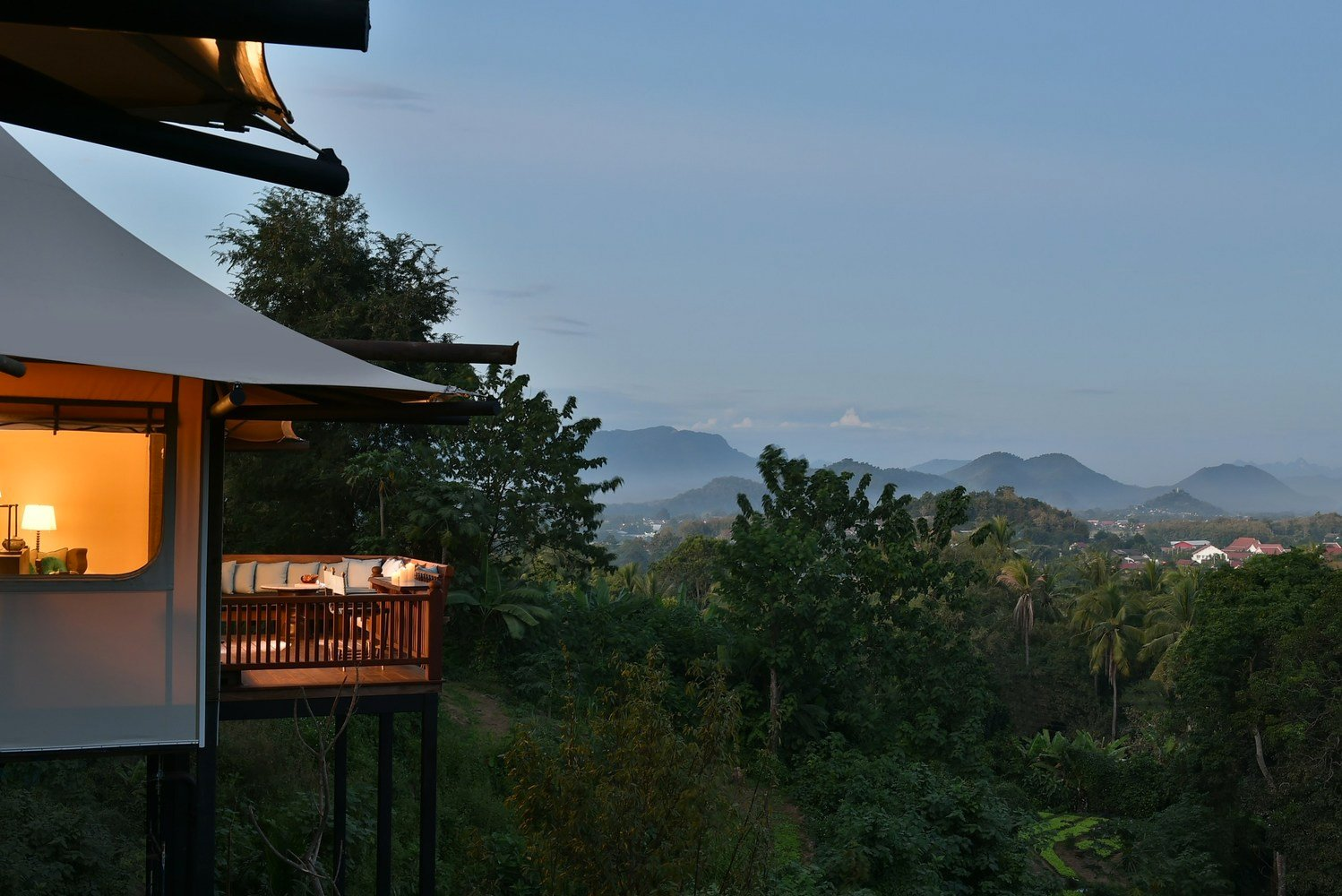 This is the brand's second resort in Southeast Asia and its first to include tented villas.