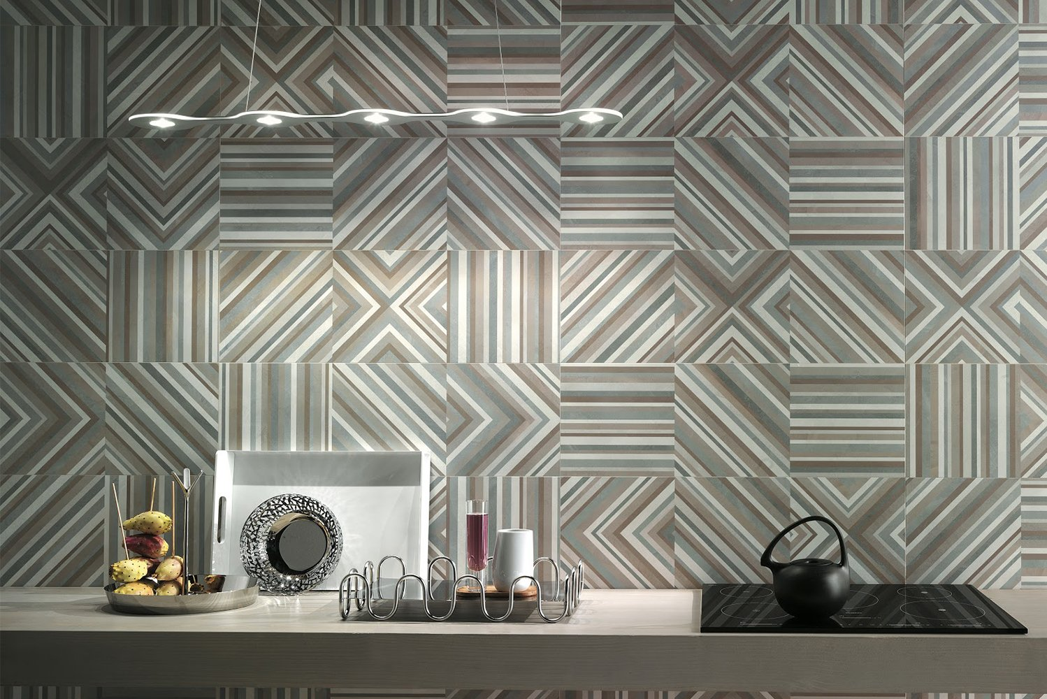 Nemo Tile + Stone launched the Studio collection of ceramic wall tiles.