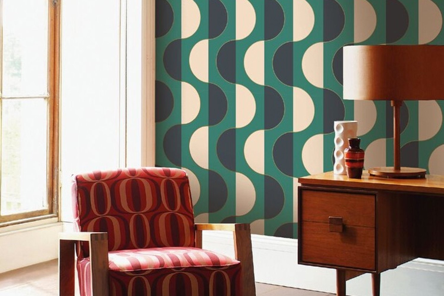 Tempaper launched self-adhesive wallcoverings.