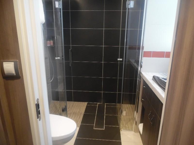 Master bathroom on the loft level.