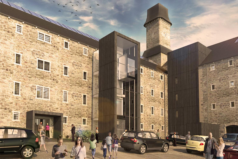 Twelve Architects will transform Bodmin Jail on Britain's Cornish coast into a hotel, museum and bat sanctuary.