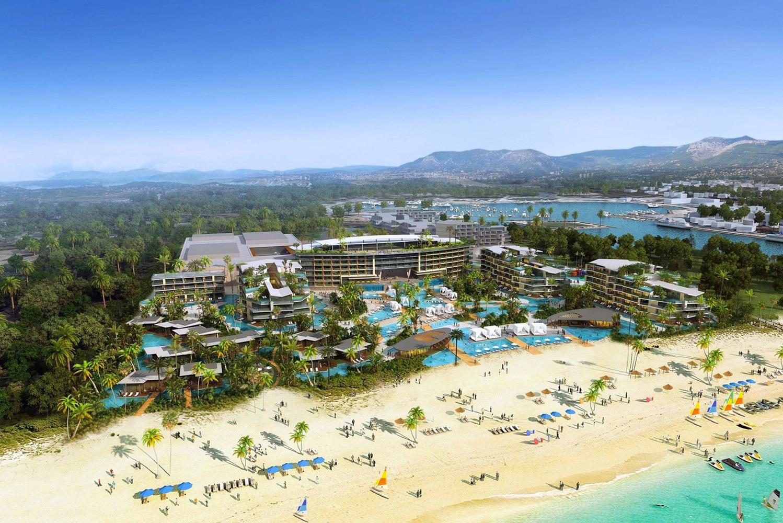 Caesars Entertainment Corporation will bring a non-gaming Caesars Palace resort along the coast of Puerto Los Cabos, Mexico.