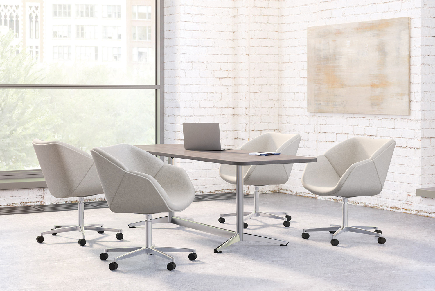 National Office Furniture launched Delgado.